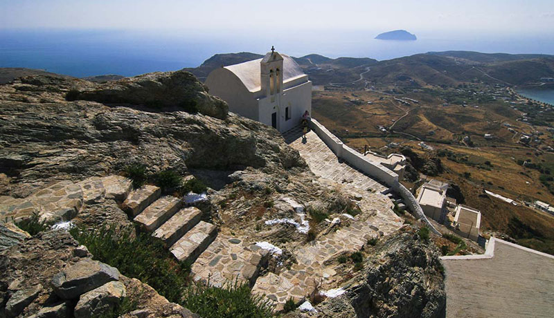 The castle of Serifos