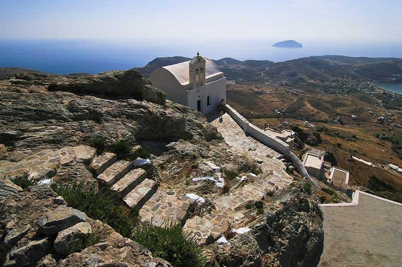Το κάστρο της Σερίφου